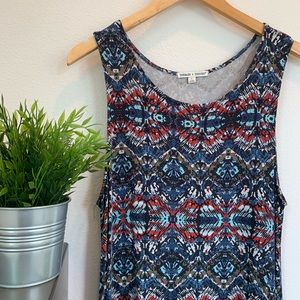 Dresses & Skirts - Blue and red sleeveless dress